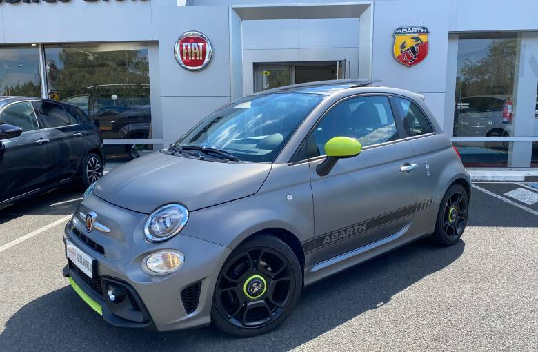 ABARTH 595 1.4 Turbo 16V T-Jet 165 ch BVM5  Pista - véhicule d'occasion - Site Laurier Automobiles
