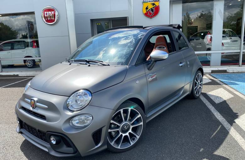ABARTH 595C 1.4 Turbo 16V T-Jet 165 ch BVM5  Turismo - véhicule d'occasion - Site Laurier Automobiles