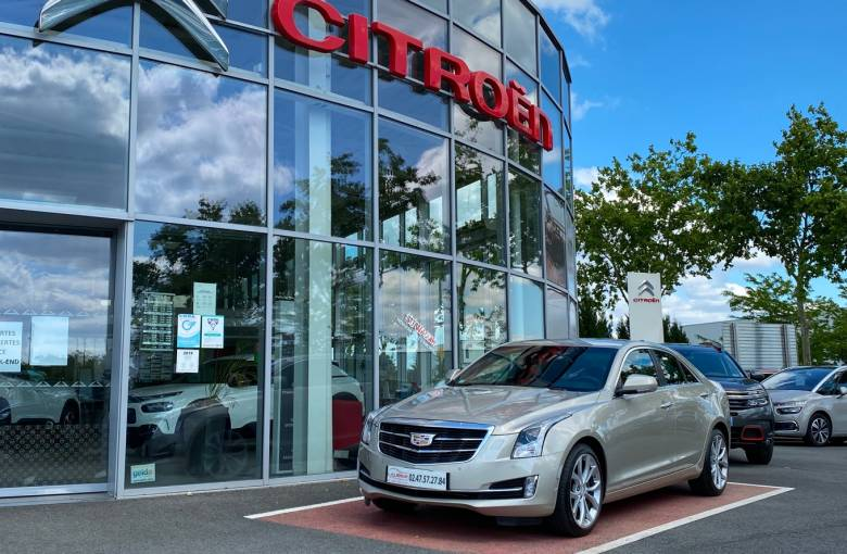 CADILLAC ATS 2.0 Turbo 276 AWD  Premium A - véhicule d'occasion - Site Laurier Automobiles