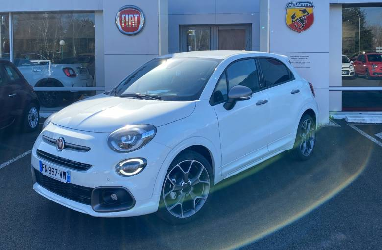 FIAT 500X MY20 500X 1.0 FireFly Turbo T3 120 ch  Ballon d'Or - véhicule d'occasion - Site Laurier Automobiles