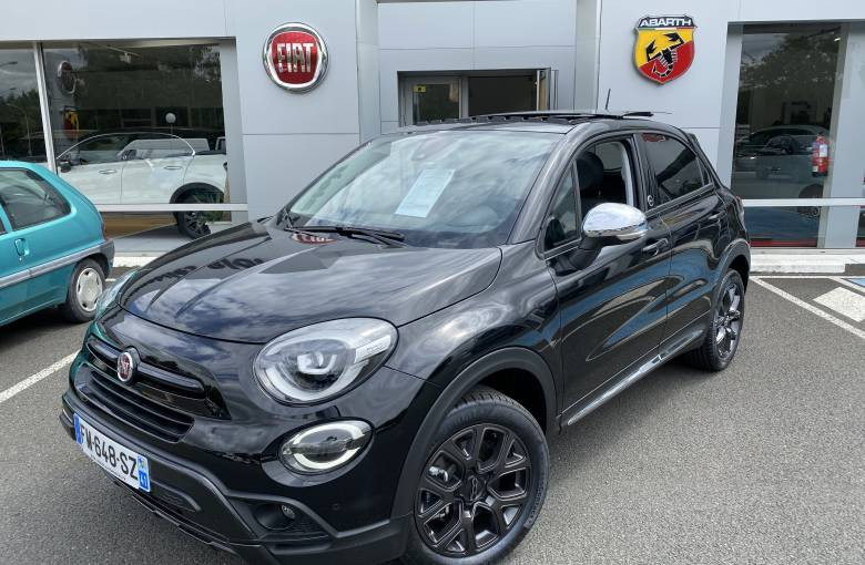 FIAT 500X MY19 500X 1.3 FireFly Turbo T4 150 ch DCT  by Harcourt - véhicule d'occasion - Site Laurier Automobiles