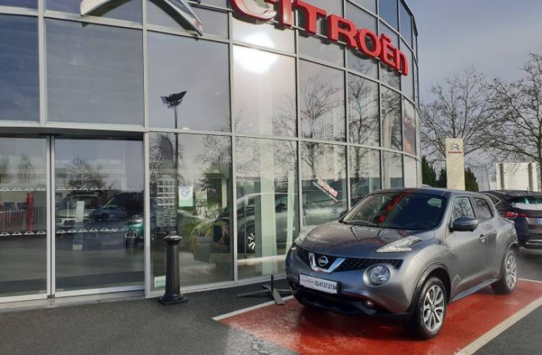NISSAN Juke 1.6e DIG-T 190 All-Mode 4x4-i  Connect Edition Xtronic 7 A - véhicule d'occasion - Site Laurier Automobiles