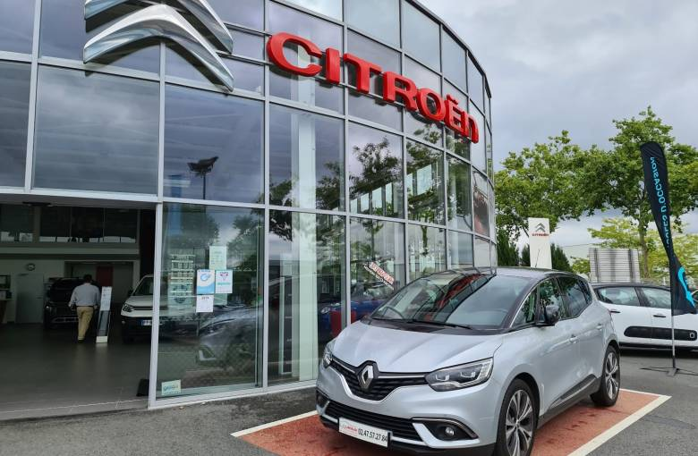 RENAULT SCENIC IV Scenic TCe 140 Energy EDC  Intens - véhicule d'occasion - Site Laurier Automobiles