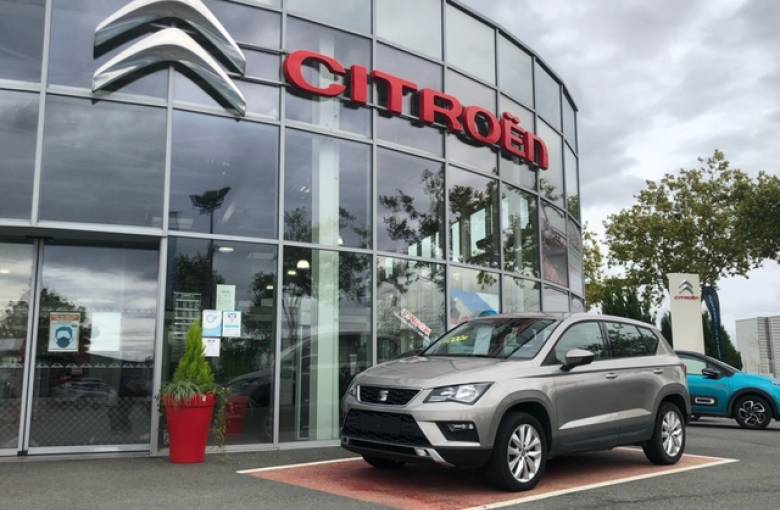 SEAT Ateca 1.6 TDI 115 ch Start/Stop Ecomotive  Reference - véhicule d'occasion - Site Laurier Automobiles